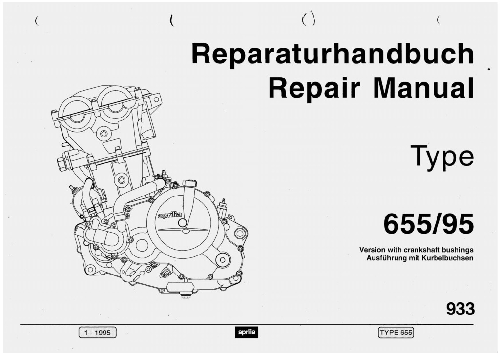 Aprilia Pegaso Rotax 655 95 Engine Service Manual Pdf  24 2 Mb